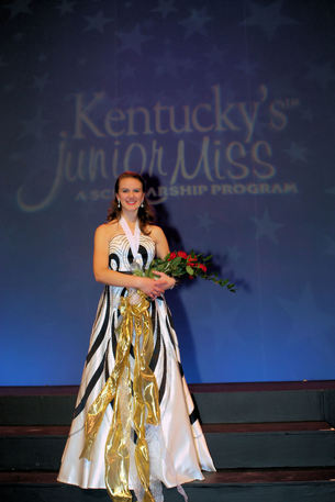 Michelle Rodgers  Kentucky's Junior Miss 2009